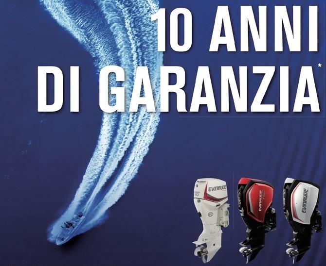 Naviga senza pensieri con la migliore garanzia sul mercato: 10 anni di Garanzia!