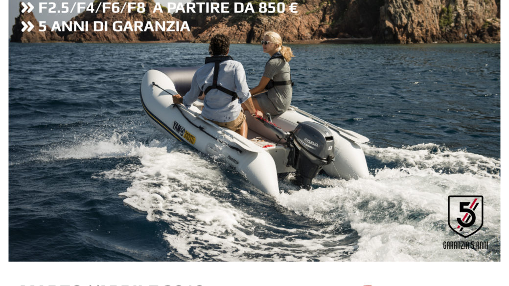 Incentivi Satisfaction Sea Yamaha: Ecco tutto il listino incentivi 2019